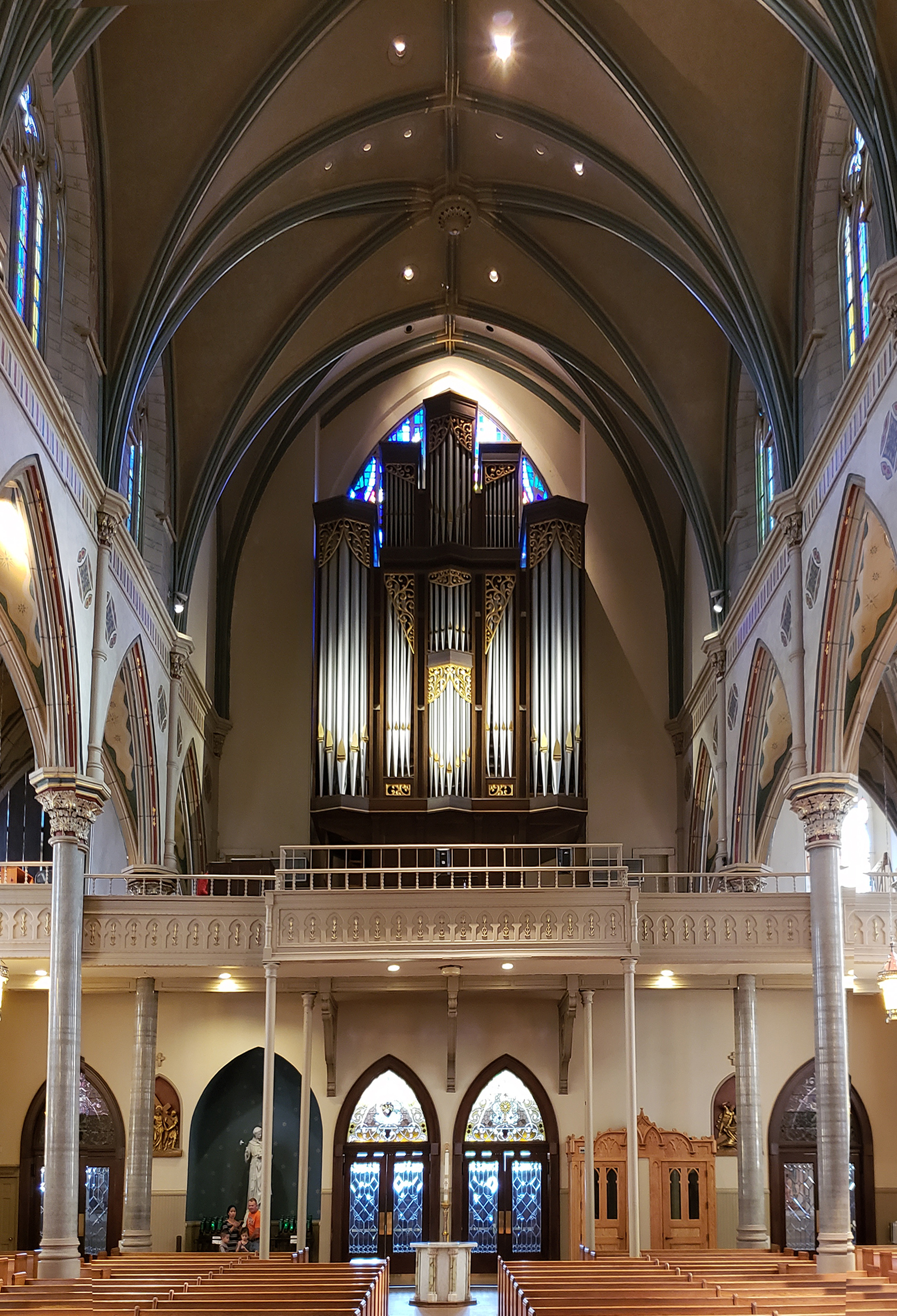 Present Pipe Organ | The Cathedral of Saint Paul